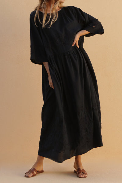 DOREEN DRESS - BLACK