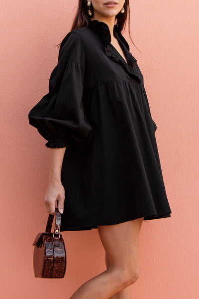 BLANCHE DRESS - BLACK
