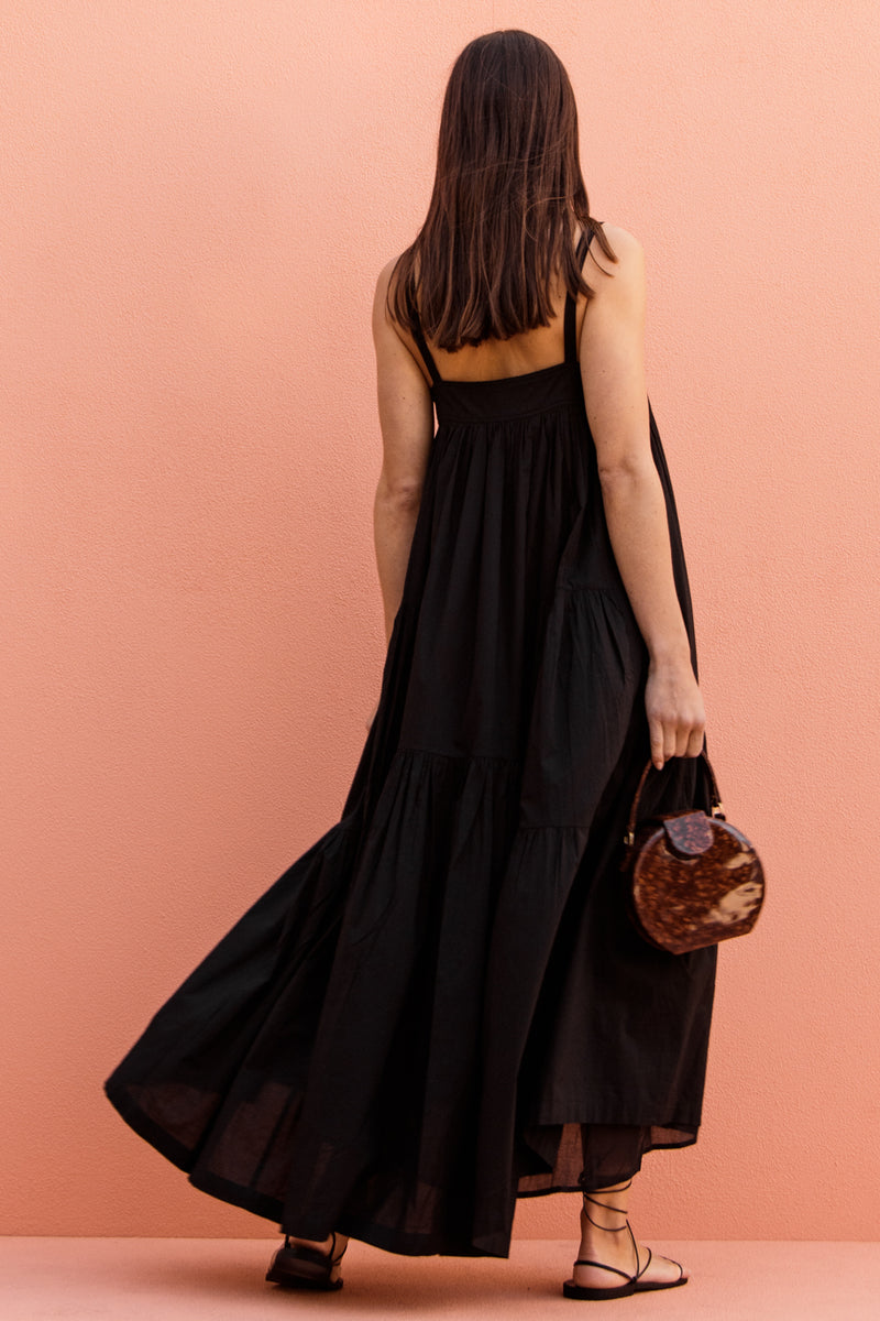 CYNTHIA DRESS - BLACK