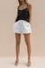 DELMAR SHORT - WHITE