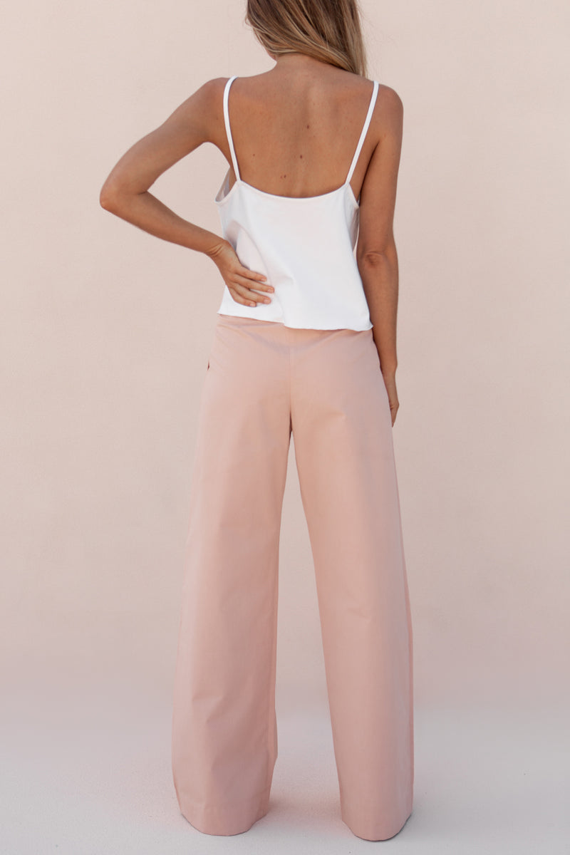 BOYCE TROUSER - DUSTY ROSE