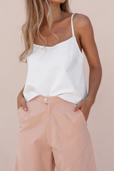 ARIA TOP - WHITE