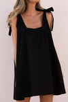 TORA MINI DRESS - BLACK