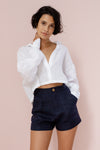 TILDA SHORT - FRENCH NAVY