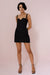 NINA MINI DRESS - BLACK