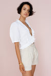 WILLOW BLOUSE - IVORY
