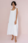 TORA DRESS - WHITE