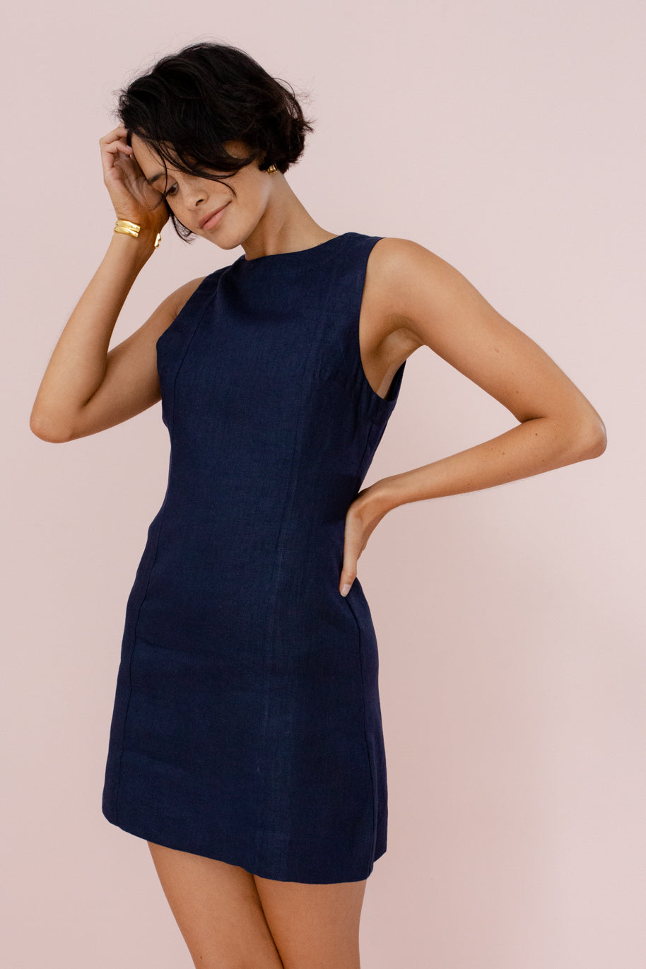 ANDIE DRESS - FRENCH NAVY