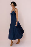 SCARLETT DRESS - FRENCH NAVY