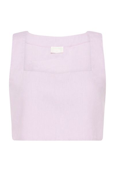 ALICE CROP TOP - LILAC