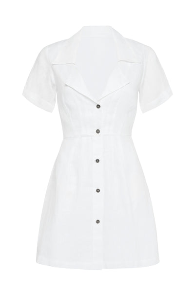 ELIA MINI DRESS - WHITE