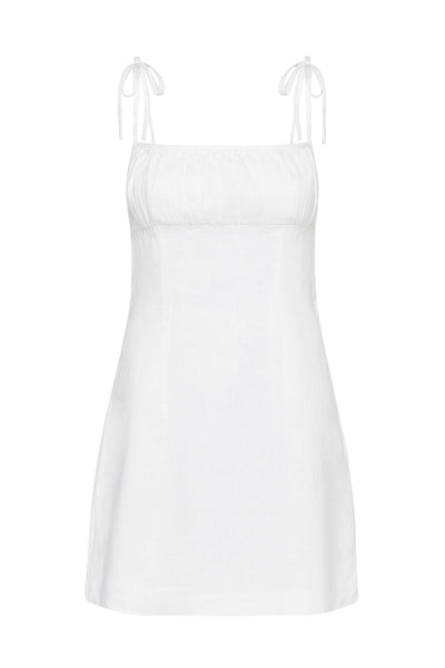 RAYE MINI DRESS - IVORY