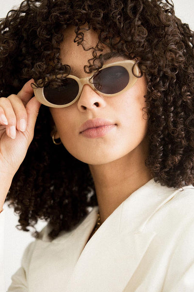 A LA PLAGE SUNGLASSES - TAN