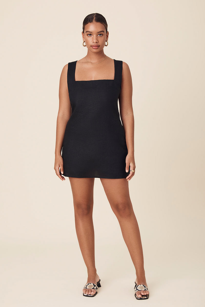 ALICE MINI DRESS - BLACK