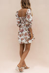 ALLEGRA DRESS - ANTIQUE FLORAL