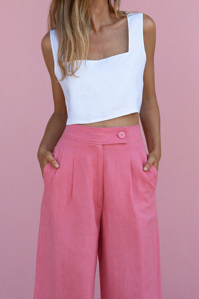 SOLACE PANT - DESERT ROSE