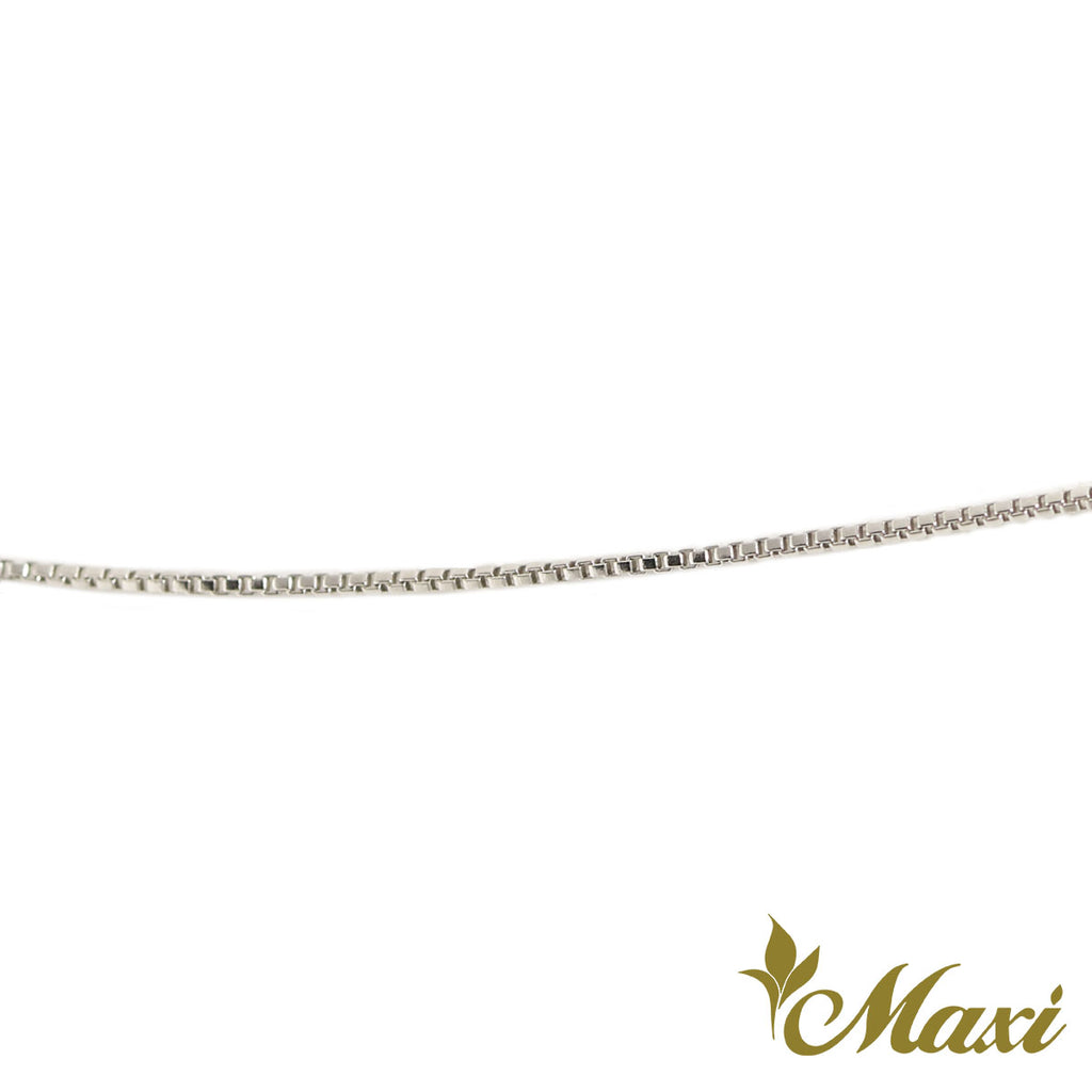 [Silver 925] Box Chain 0.7mm