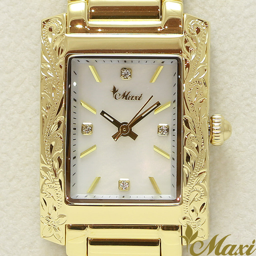 Maxi x Vincente Collaboration Mother of Pearl Watch 5171-001-5
