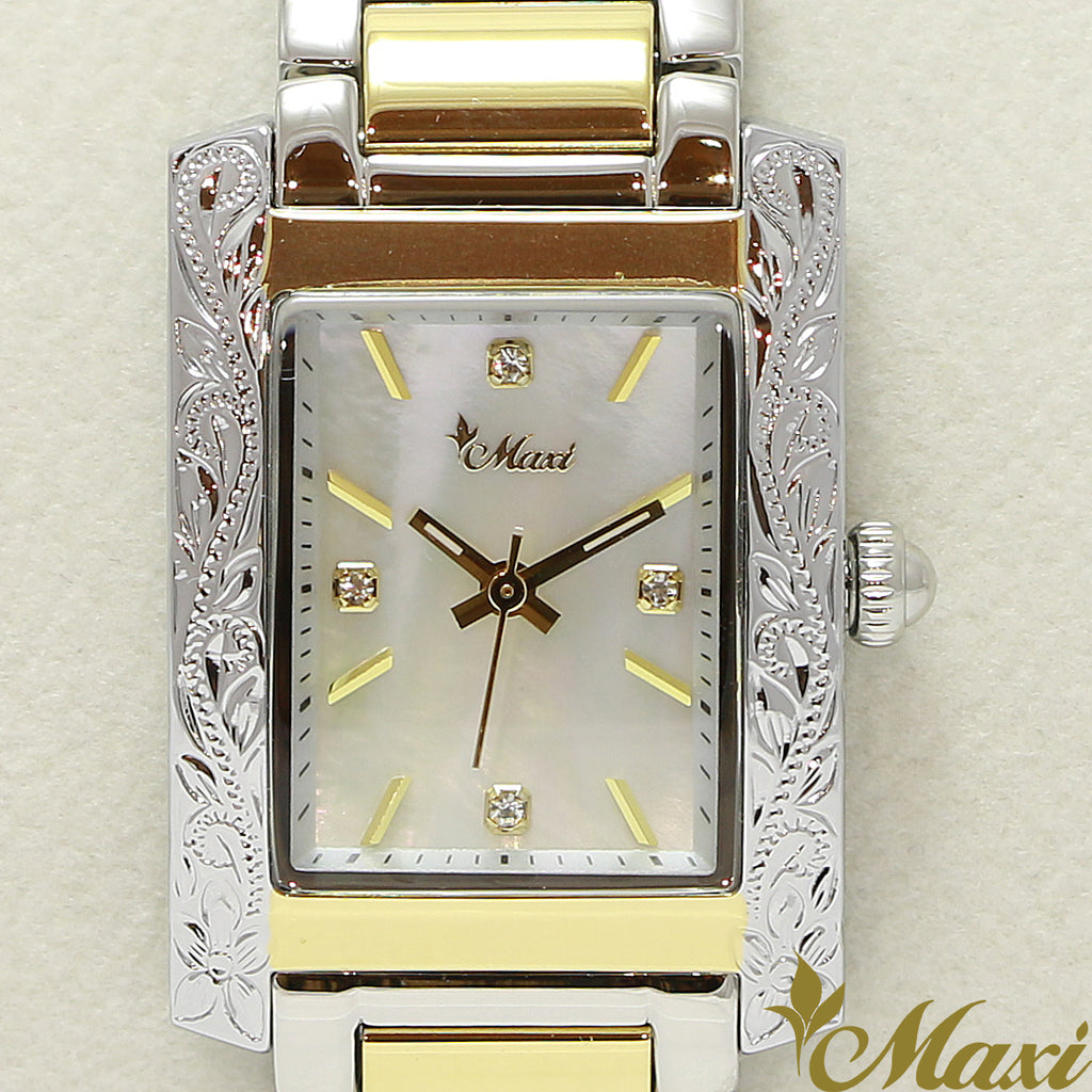 Maxi x Vincente Collaboration Mother of Pearl Watch 5171-002-5