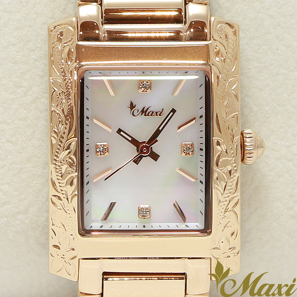 Maxi x Vincente Collaboration Mother of Pearl Watch 5171-003-5