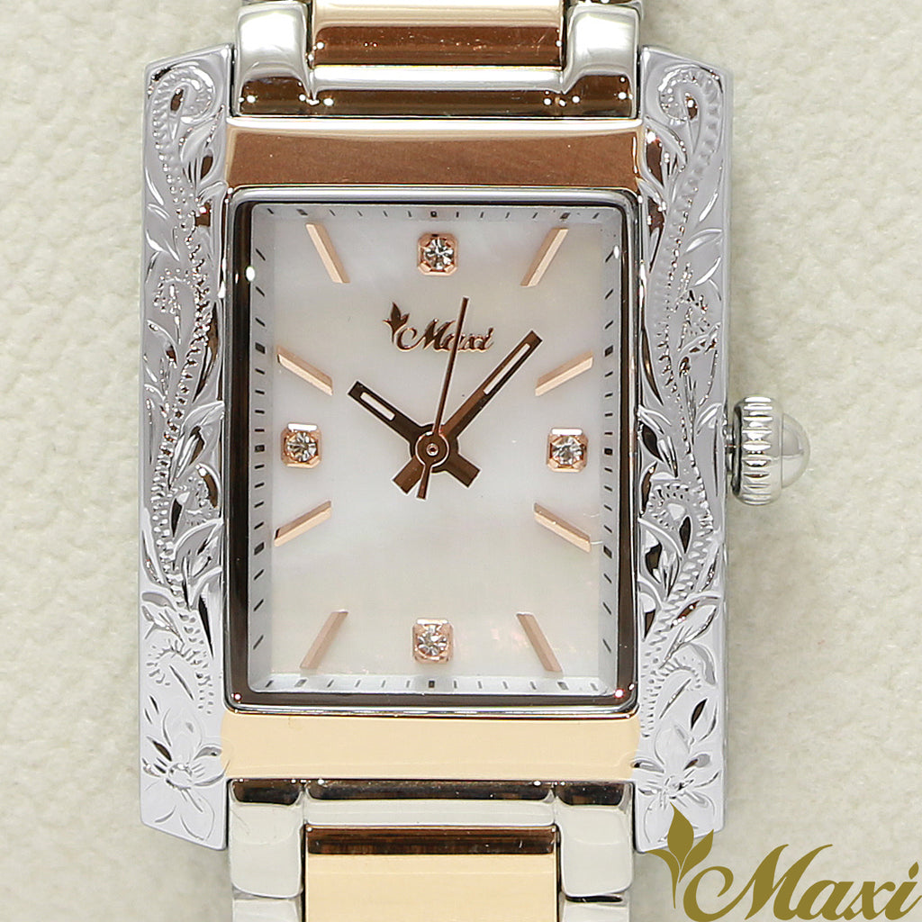 Maxi x Vincente Collaboration Mother of Pearl Watch 5171-004-5