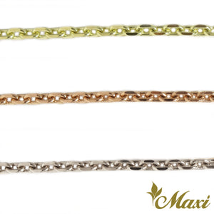 [14K Gold] 2mm Cable Chain