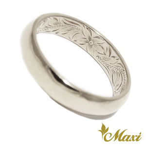 [14K Gold] 4mm Inside Engraved Ring*Made to Order* (R0583)