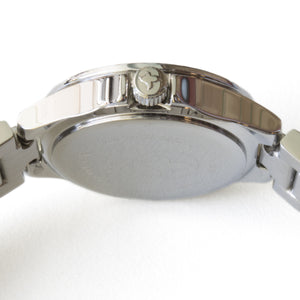 Shell Face Watch Silver