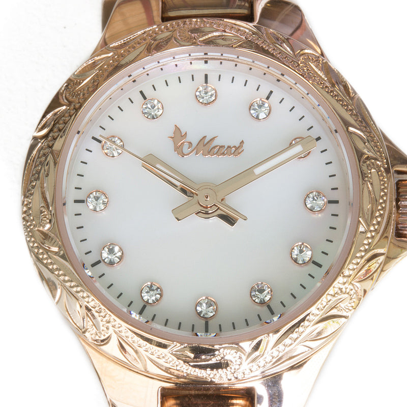 Shell Face Watch Pink Gold