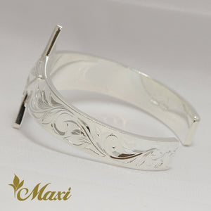 [Silver 925]-Hand Engraved Traditional Hawaiian Design*Made-to-order* (B0575)