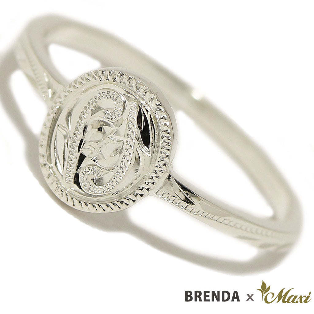 [Silver925] Brenda x Maxi / Coin Edge Petite Disc Ring [Made to Order] (R0827)