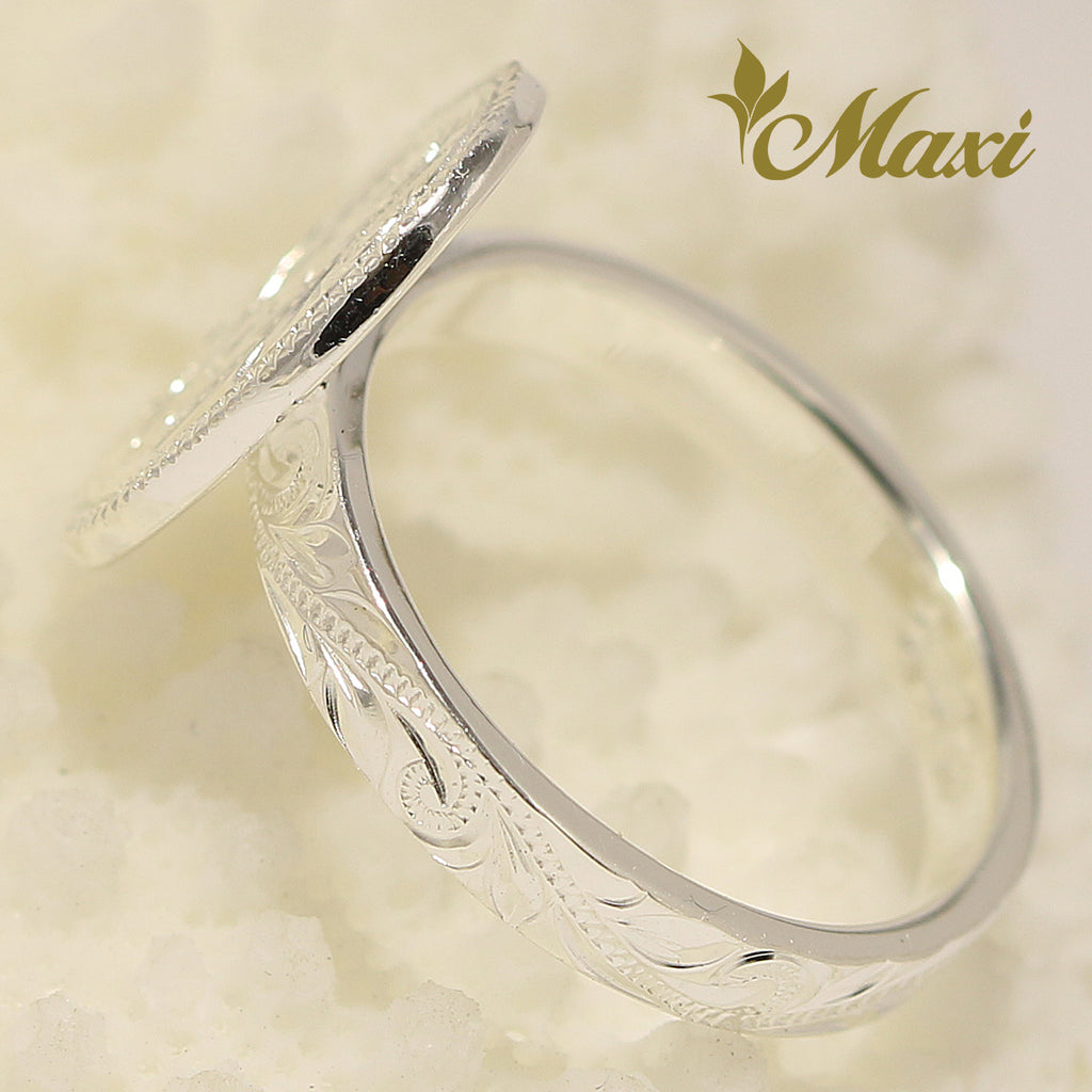 [Silver925] Brenda x Maxi / Oval Disc Ring [Made to Order] (R0829)