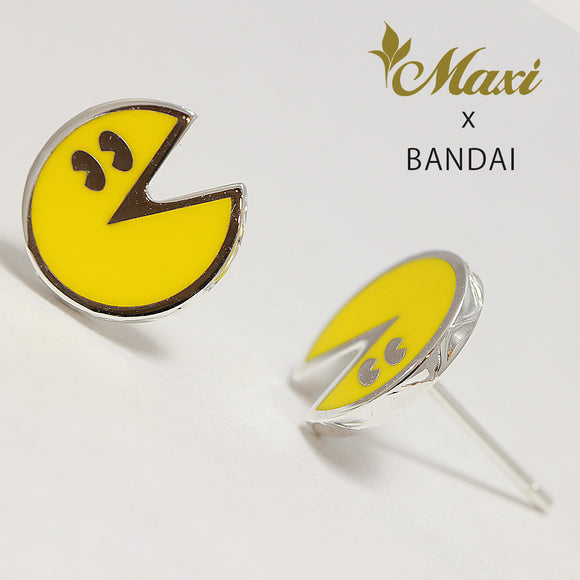 [Silver 925] -Pac-Man Earring ~Maxi x Bandai collaboration item~ (E0227)