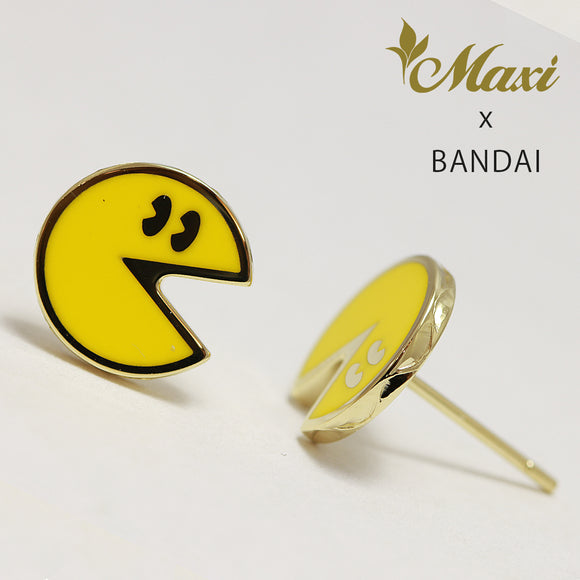 [14K Yellow Gold] -Pac-Man Earring ~Maxi x Bandai collaboration item~ (E0227)