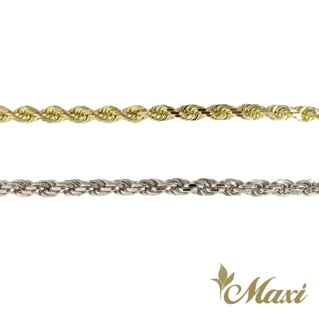 [14K Gold] 2.5mm Rope Chain