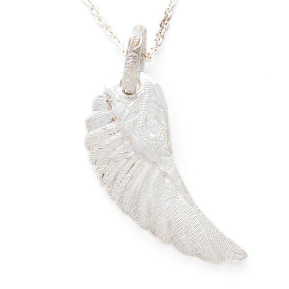 Silver 925 Wing Pendant Large