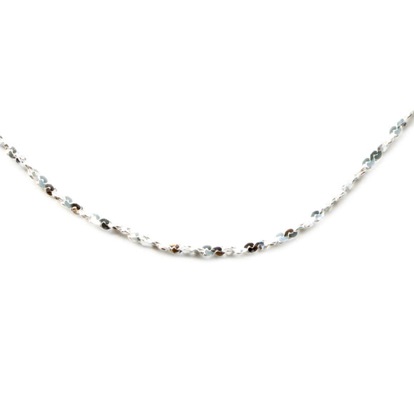 Silver 925 Small Twist Chain