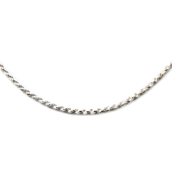 Silver 925 1mm Rope Chain