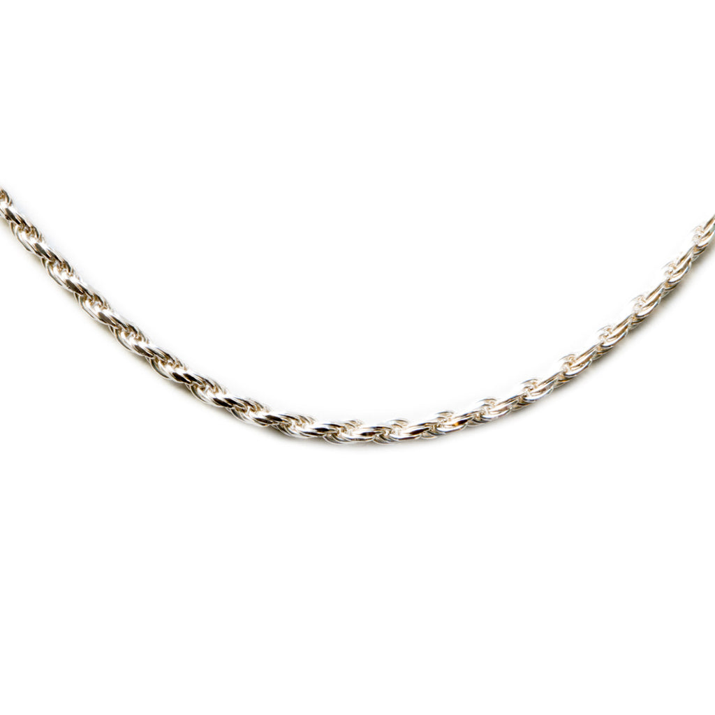 Silver 925 1.5mm Rope Chain