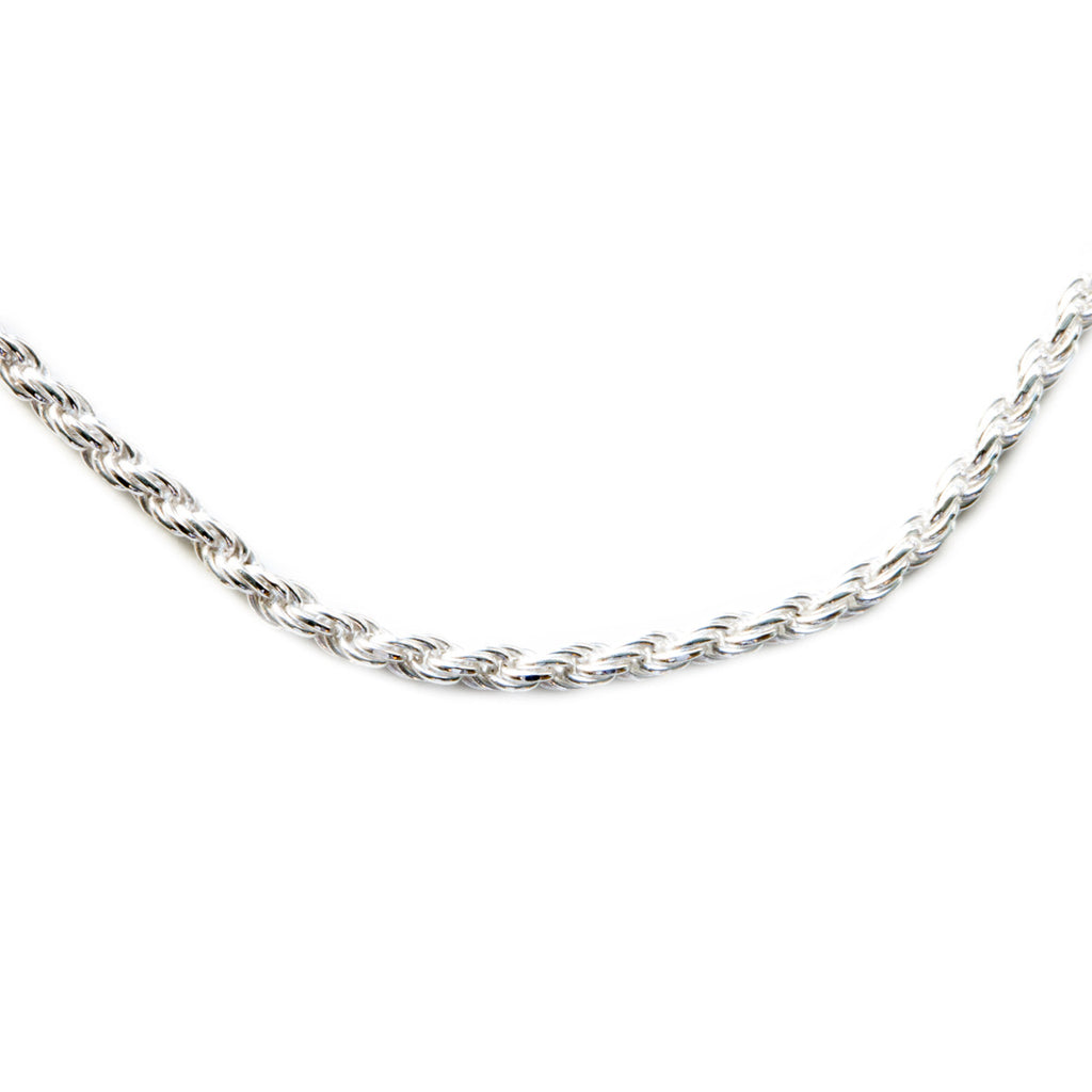 Silver 925 2mm Rope Chain