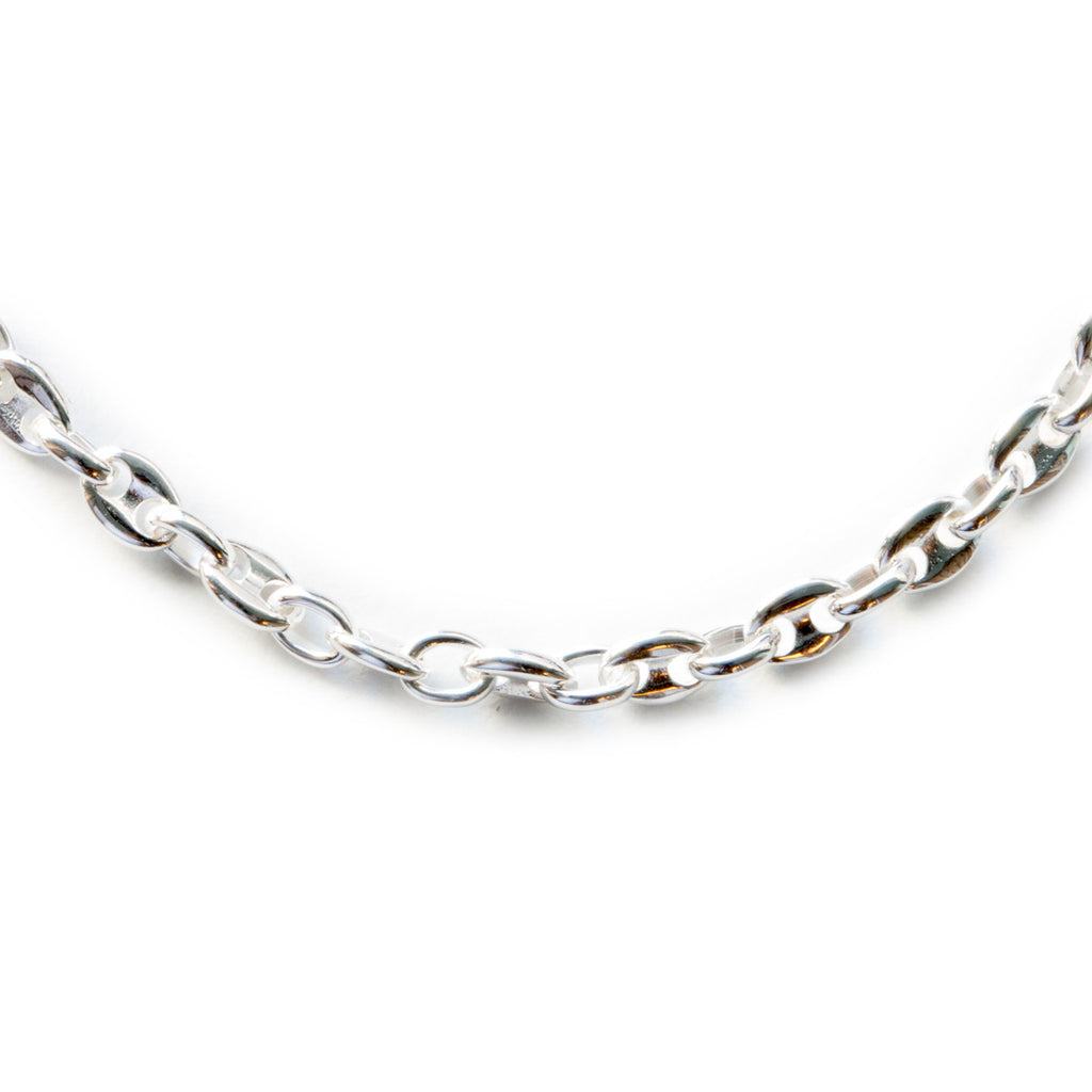 Silver 925 Medium Marina Chain