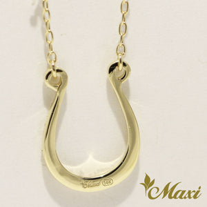 [14K Gold] Horseshoe Necklace *Made-to-order*(KN0002)