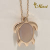[14K Gold] Mother of Pearl-Honu Necklace*Made to Order*(N0030)