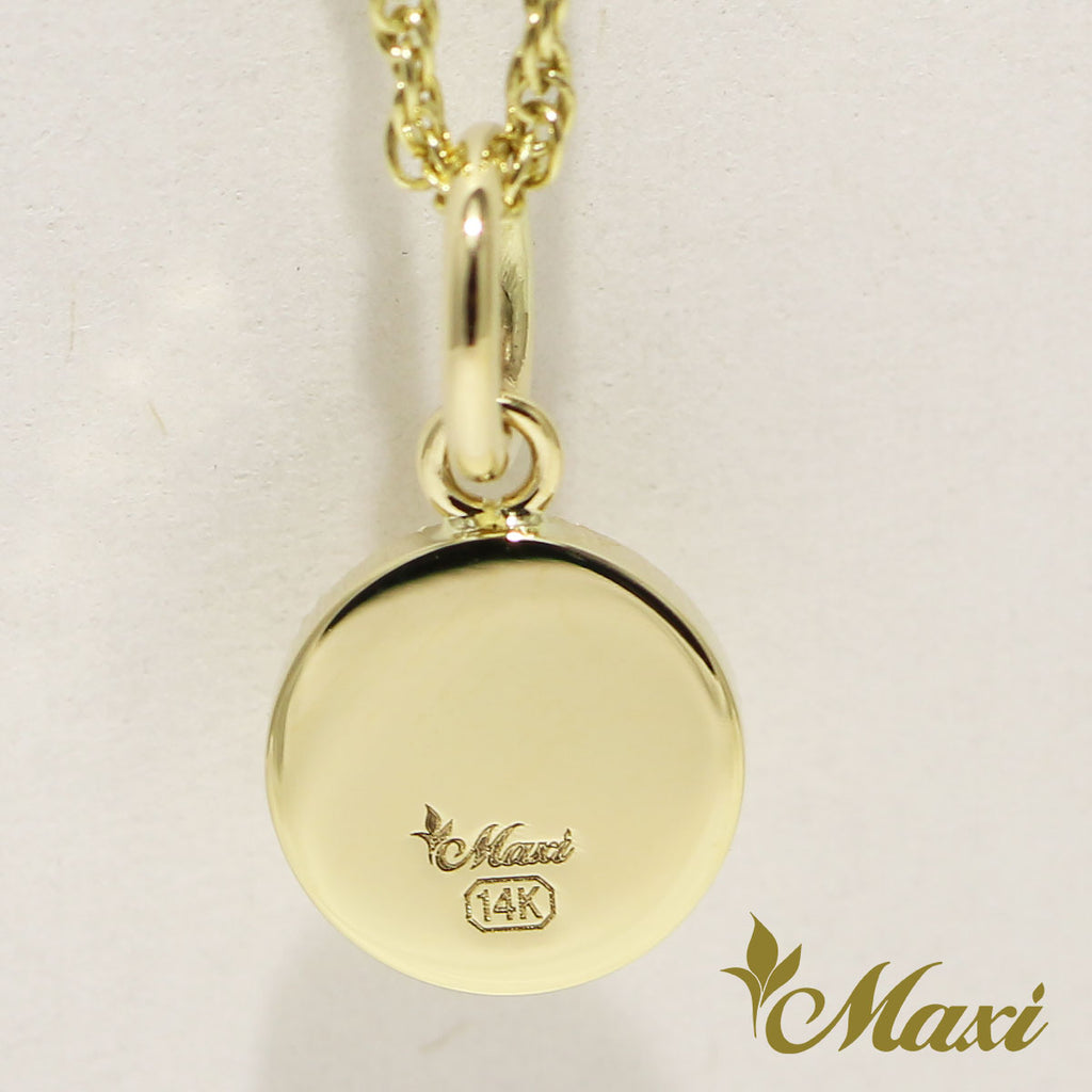 [14K Gold] -BRENDAxMaxi- Medallion Pendant*Made-to-order*(P1239)