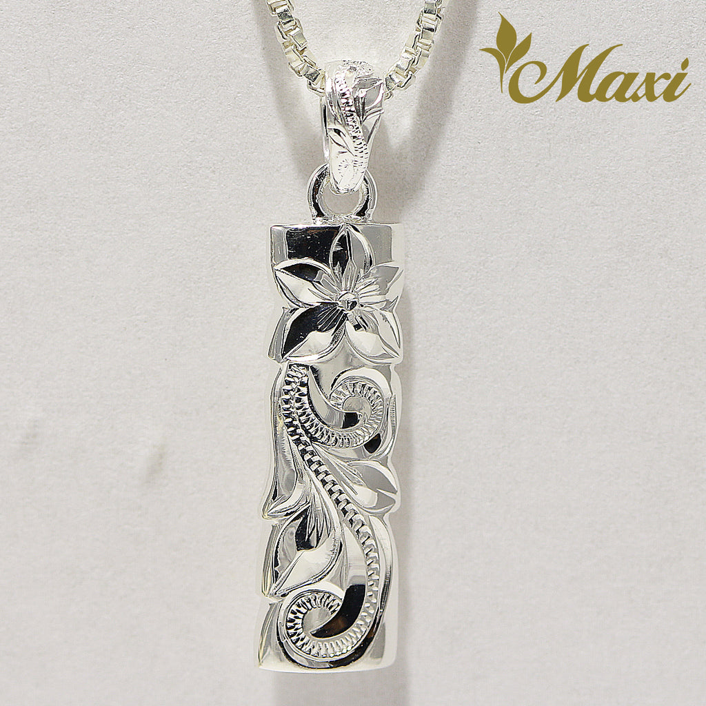 [Silver 925] Bar Pendant 6mm Width (P1269) [Made to Order]