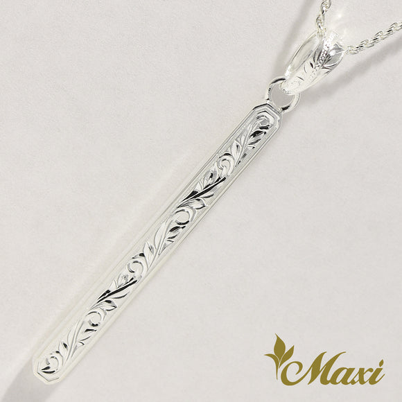 [Silver 925] Long Bar Pendant (P1270)
