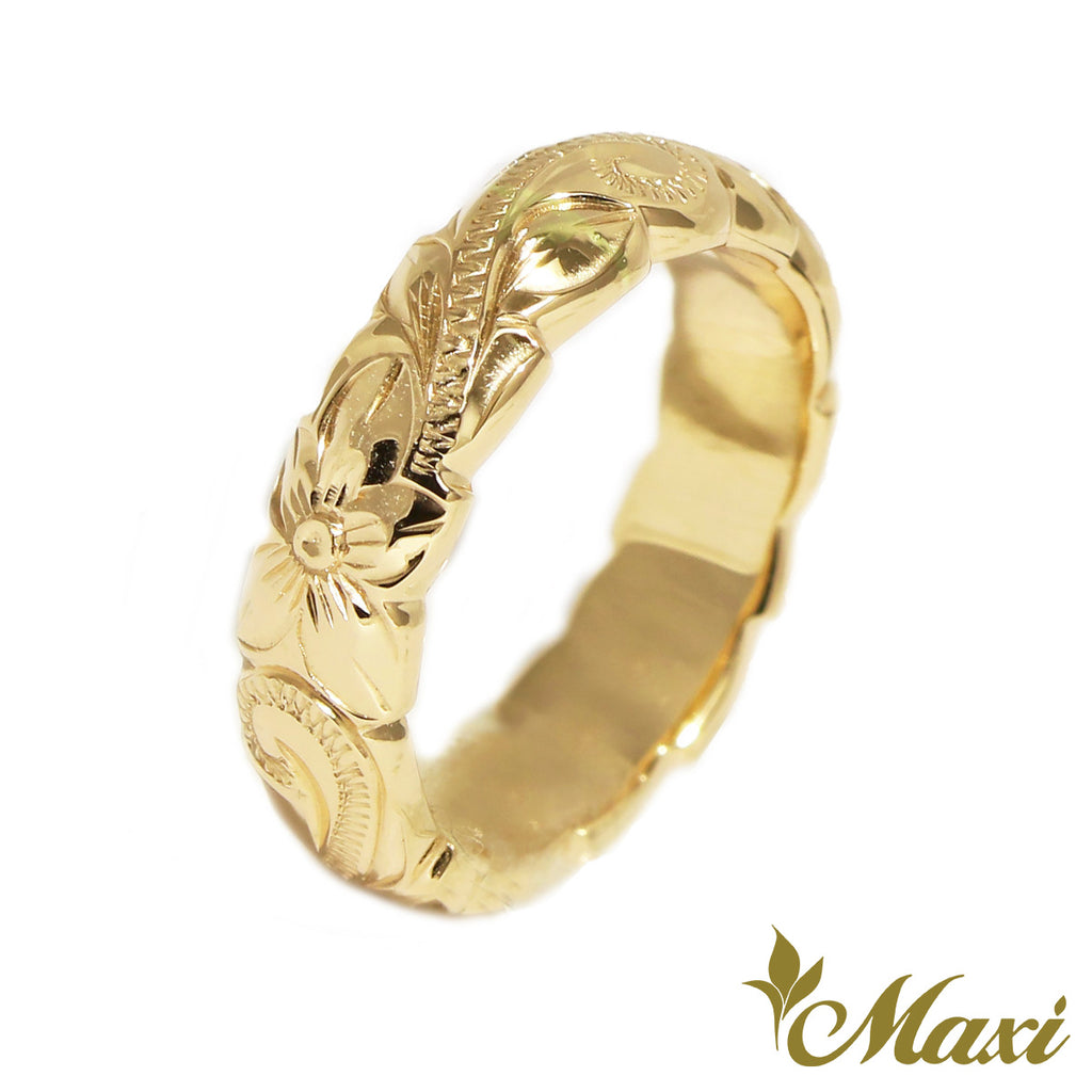 [14K Gold] Baby Ring-4mm Barrel Ring *Made to Order* (R0133-Baby)