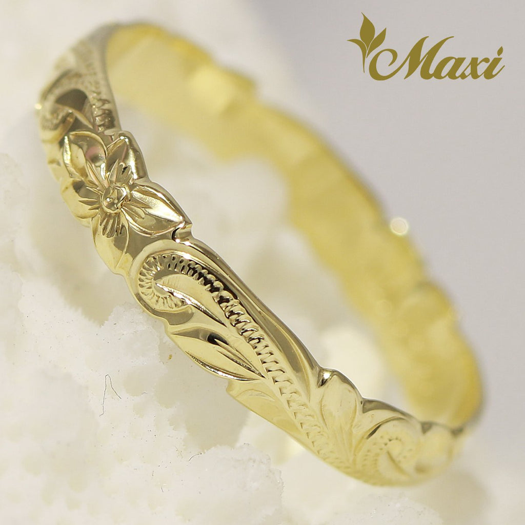 [14K Gold] 0.5mm thick 2.5mm Pinky Ring [Made to Order] (R0305)