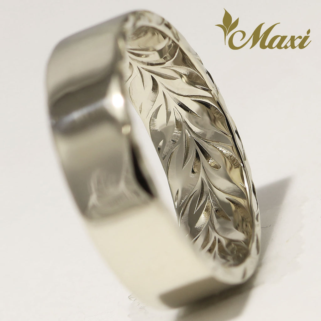 [14K Gold] Inside Engraved Ring *Made-to-order*(R0540-inside-maile)