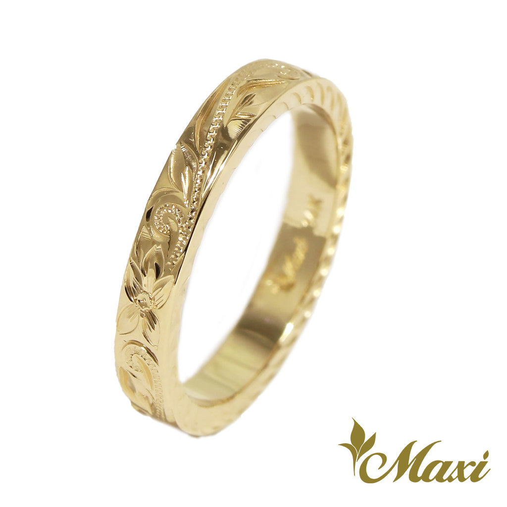 [14K Gold] Baby Ring-2.5mm Flat Ring *Made to Order* (R0639-Baby)